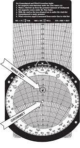 Wind Correction Chart E6b Flight Computer Instructions Gleim Aviation