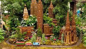 8 tickets to new york botanical garden holiday train show