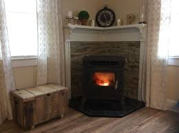 nice looking wood pellet fireplace insert within how to convert a gas fireplace to wood burning