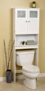 bathroom space savers bathtub storage: bath storage space saver over the toilet shelf white frosted