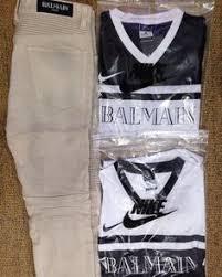 chanel jersey. nike balmain jersey as seen on chris brown #nike x #chanel ready to chanel