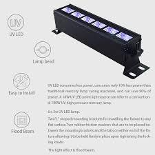 Free shipping 12*3W <b>uv</b> led bar wll wash stage effect light dmx ...