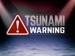 The hazards presented by tsunamis have brought many countries in the pacific basin to establish tsunami warning systems. 7 4 Magnitude Quake Off Alaska Prompts Tsunami Warning News Foxcarolina Com