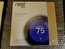 lennox 7500 thermostat. brand new sealed nest pro learning thermostat built-in wifi t3008us - steel lennox 7500