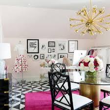 pink black white office black. Pink Feminine Office Design Black White M