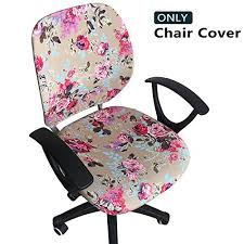 office chair covers. Unique Covers Amazoncom Melaluxe Computer Office Chair Cover  Protective U0026 Stretchable  Universal Covers Stretch Rotating Slipcover Home Kitchen Inside O