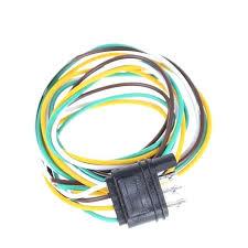 wire harness extension utahsaturnspecialist com wire harness extension trailer light wiring harness extension 4 pin plug flat wire connector trailer male