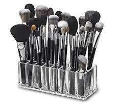byAlegory Acrylic Makeup Brush Organizer   24 Spaces