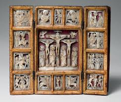 triptych the passion of christ work of art heilbrunn triptych the passion of christ