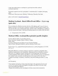 Samples Of Medical Assistant Resumes Or 15 Best Sample Resume
