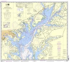 Chesapeake Bay Chart Book Noaa Chart 12273 Chesapeake Bay Sandy Point To Susquehanna River