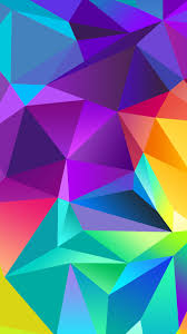 colorful iphone 6 wallpaper. Beautiful Wallpaper Colorful Polygon IPhone 6 Plus Wallpaper Inside Iphone