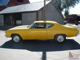 68 Chevy Chevrolet Chevelle Big Block 454 Strocker 509 Turbo 400 ...
