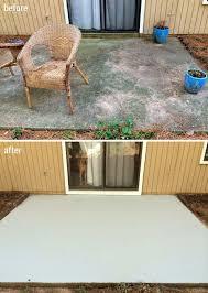 paint concrete patio