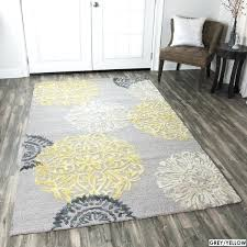 gray and yellow rug hand tufted fl wool grey navy yellow rug gray and yellow rug