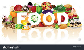 the word food. Plain Food The Word Food Spelled By A Pile Of Foods JPG To Word O