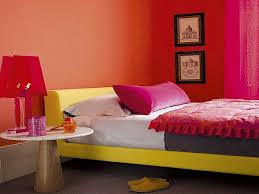 Orange Paint Colors For Living Room Simple Creative Painting Ideas For Bedrooms With Black Color Small