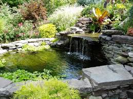 Backyard Ponds And Waterfalls Remarkable Ideas Finishing Touch Landscape 8