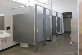 Gustine High School Locker Rooms CT Brayton  Sons Inc - Bathroom locker