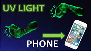 How To Make A Blue Light On Your Phone How To Make A Uv Black Light With Your Cell Phone Light
