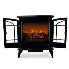 retro style floor freestanding vintage electric stove heater fireplace vonhaus firepl