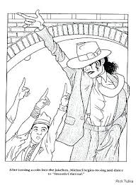 Michael Jackson Coloring Pages To Print Caseyconnellyme