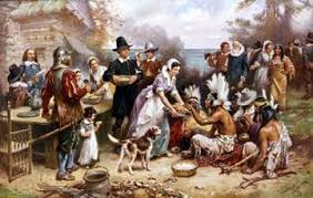 Image result for what is the story of the first thanksgiving