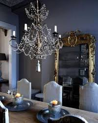 grey and gold dining room colours