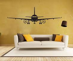 4028 3d airplane wall stickers muraux wall decor airplane wall art decal decoration vinyl stickers removable  on color planes wall art with 4028 3d airplane wall stickers muraux wall decor airplane wall art