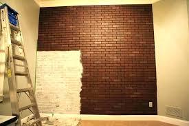 fake brick wall decoration fake brick wallpaper fake brick wallpaper fabulous faux brick interior wall fake