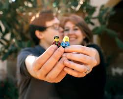 Groom Makes Awesome LEGO Love Story Video for Wedding