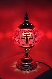 handmade mosaic table lamp chandelier lamps ottoman turkish uk