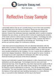 reflective essay service learning sample writing assignments reflective essay service learning sample reflective essay example 1 english program