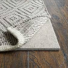 rugpadusa basics felt rug pad 3 8 thick adds cushioning and