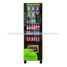 Snack Vending Machine Services Delectable China TCN Popular New Convenience Store Snack Drink Selfservice