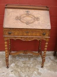 american antique victorian break front secretary desk antique furniture