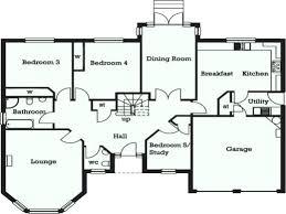 5 Bedroom Floor Plan Simple Design Inspiration