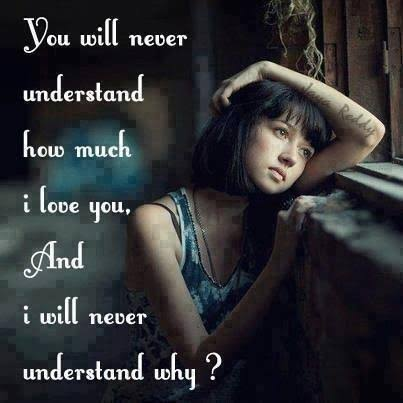 sad message for lover