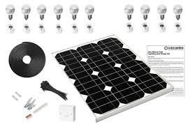 geo 5 mains free solar led lighting kit