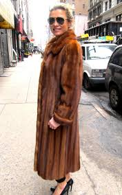 light colored fur coat valid just reduced pre owned cognac dyed female mink coat size 8