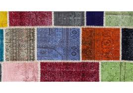 over dyed turkish patchwork rug 5 x 8 2