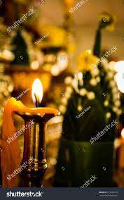 Light A Little Candle Light Little Dark Candles Stock Photo Edit Now 719560210
