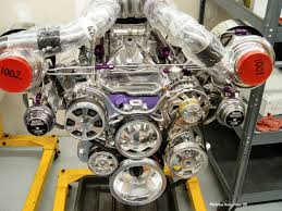 Pics of Banks Twin Turbo kit on our 383