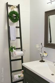 diy storage ideas diy storage ladder home decor and organizing projects for the bedroom