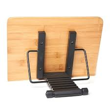 page paper clips portable book stand bamboo book holder bookshelf school with tray adjustable book holder for kids wood diy crafts a68373261