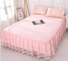 girls bed skirt. Simple Girls Pink Lace Bedding Bed Skirt 1Romantic Princess Bedspread Girls Sheet  Pillowcase Home Textile Full Queen King Size White Dust Ruffle Linen Bedskirts  Inside A