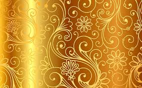 brown wallpaper background gold