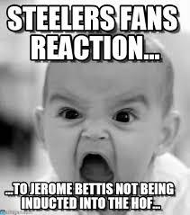 Steelers Fans Reaction... - Angry Baby meme on Memegen via Relatably.com