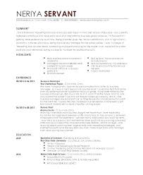 Example Of Resume For Waitress New Sample Resume For Server Waitress Letsdeliverco