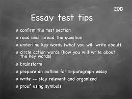 tween publishing lesson short answer essay test tips lesson 20 study skills classroom slides page4